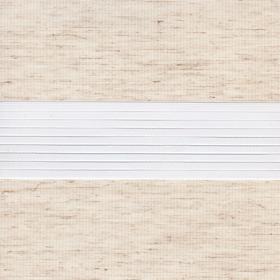Зебра Лен 2261 светло-бежевый 240 см