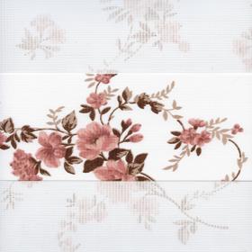 Зебра Силуэт 4096 розовый 260 см