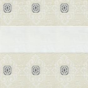 Зебра Дамаск 0225 белый 270 см