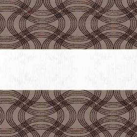 Зебра Флекс 2870 коричневый 270 см