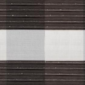 Зебра Клетка 2871 темно-коричневый 280 см