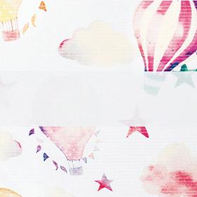 Зебра Облака 4096 розовый 280 см