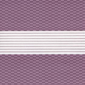 Зебра Тетрис 4284 лиловый 280 см