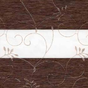 Зебра Валенсия 2871 т.коричневый 280 см